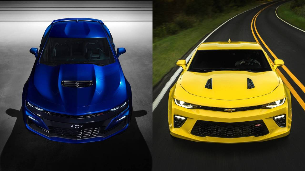 2019 Chevy Camaro: See The Changes Side-By-Side