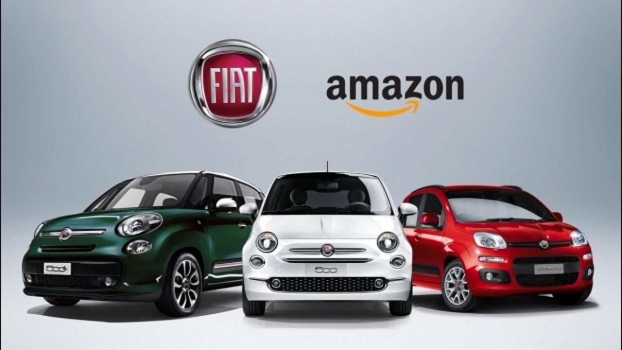 [Copertina] - Fiat Panda, 500, 500C e 500L si comprano su Amazon