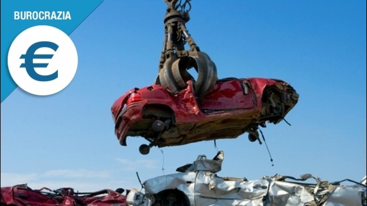 [Copertina] - Demolizione auto, ecco cosa fare