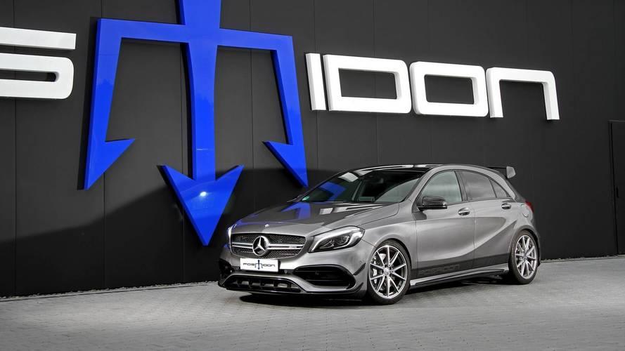 Mercedes-AMG A 45 4MATIC: 550 CV, gracias a Posaidon