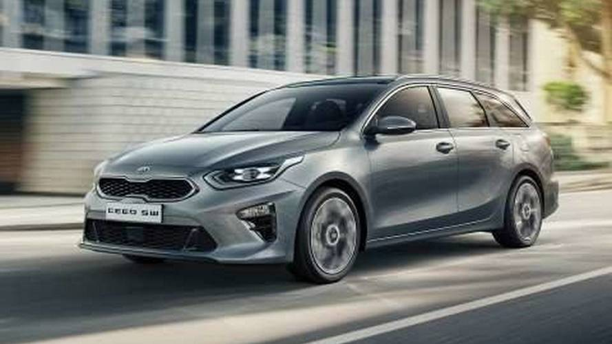 2018 Kia Ceed Sportswagon leaked official images