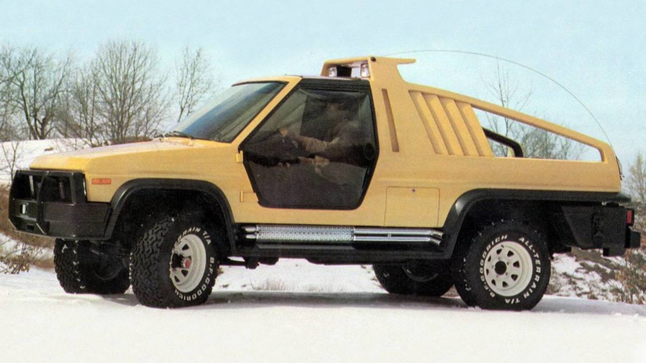 8. 1981 Ford Bronco Montana Lobo konsepti