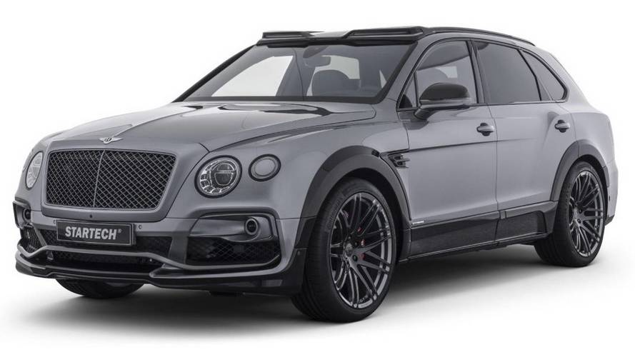 Bentley Bentayga'ya Startech Modifiyesi
