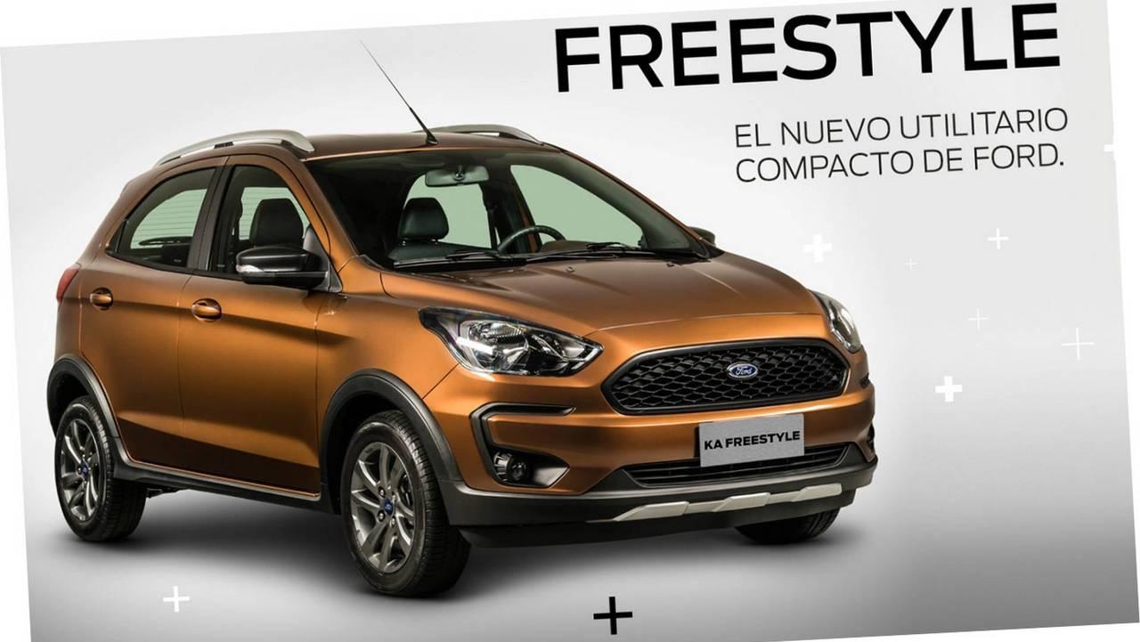 Ford Ka Freestyle (Argentina)