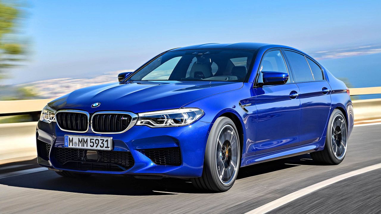 World Performance Car of the Year: BMW M5