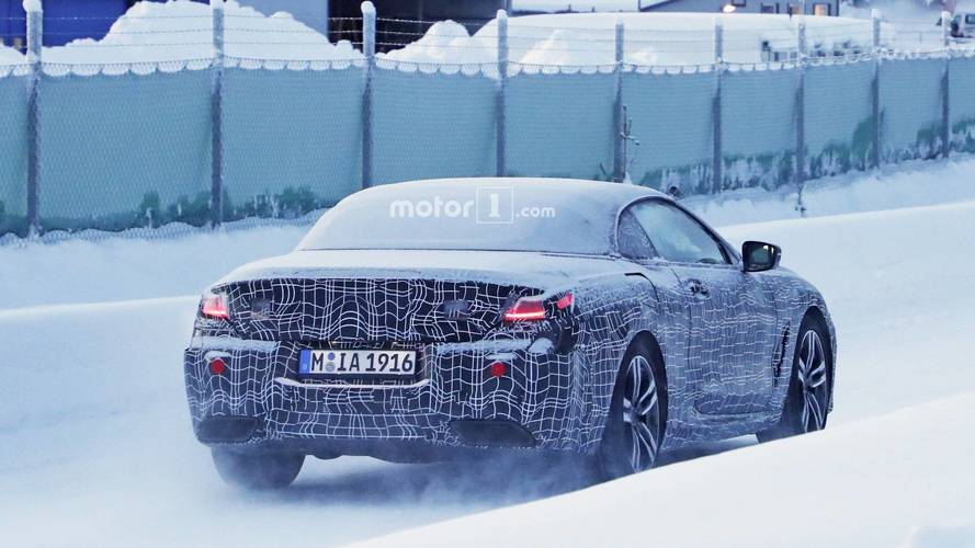 BMW Serie 8 Cabrio fotos espía
