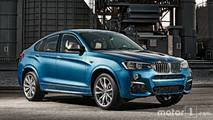 BMW X4 2018 vs. 2014