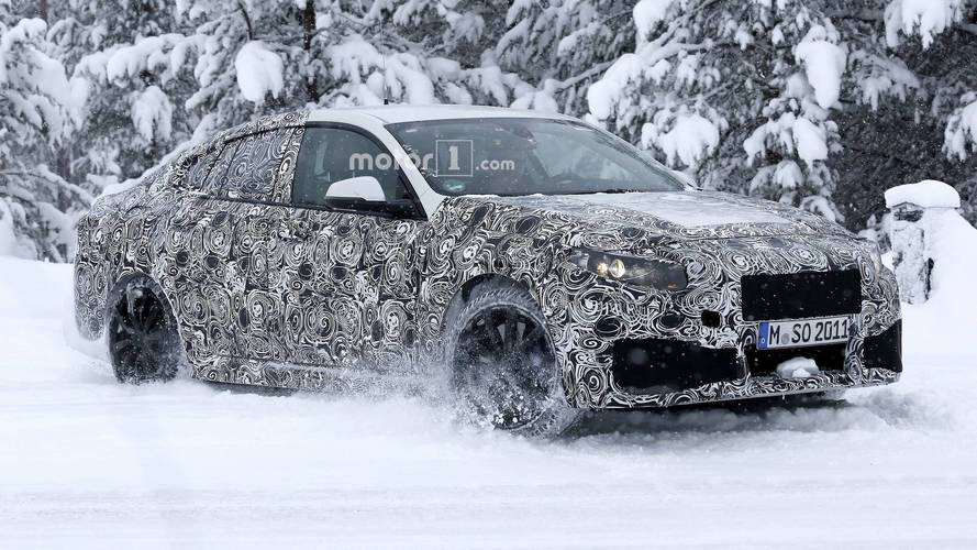BMW 2 Series Gran Coupe spy photo
