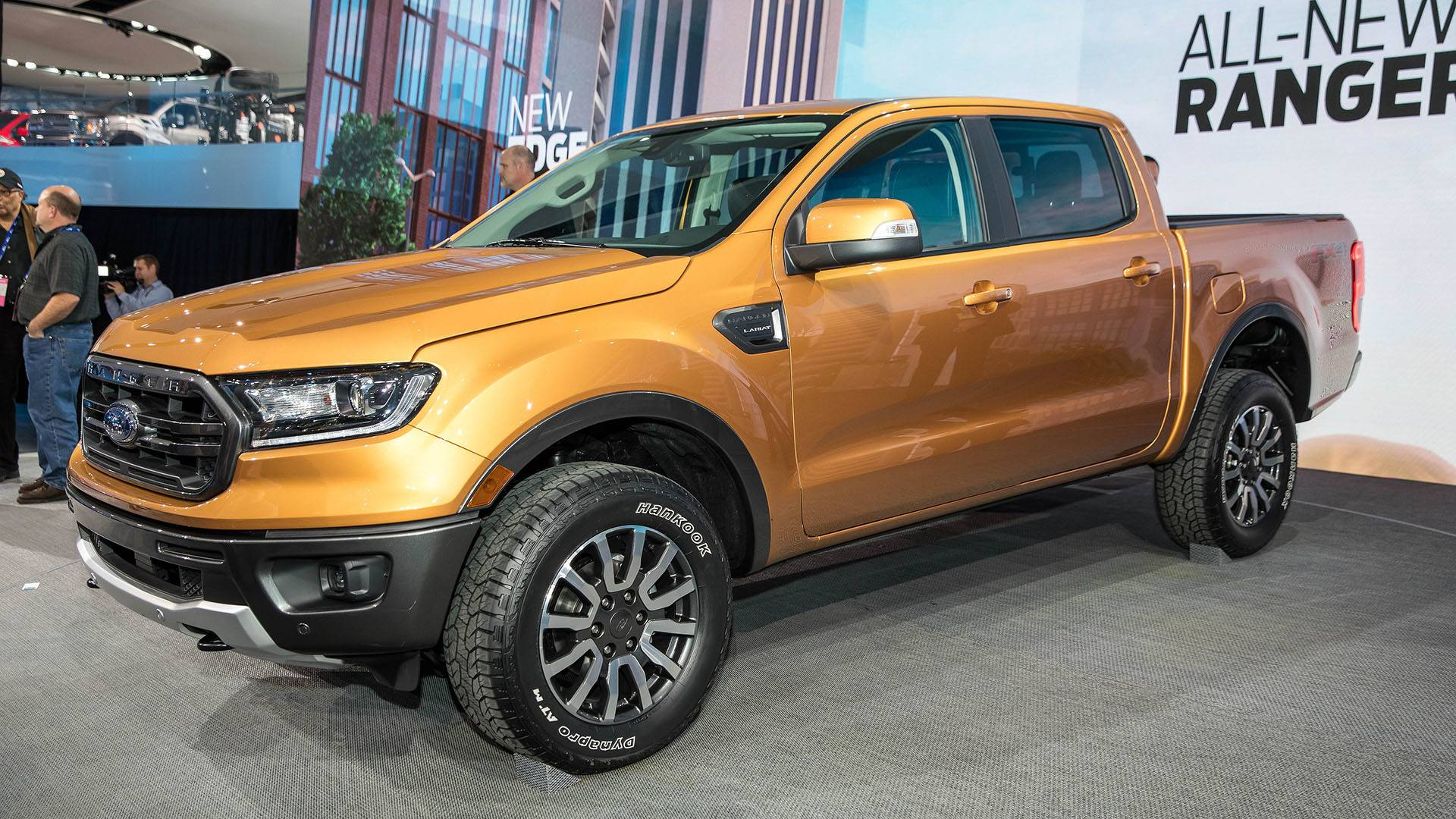 Ford ranger returns to u s with turbo power