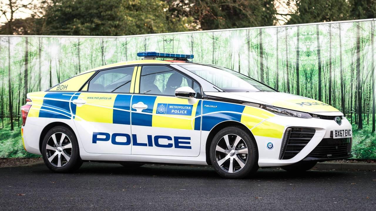 2018 Toyota Mirai Police de Londres