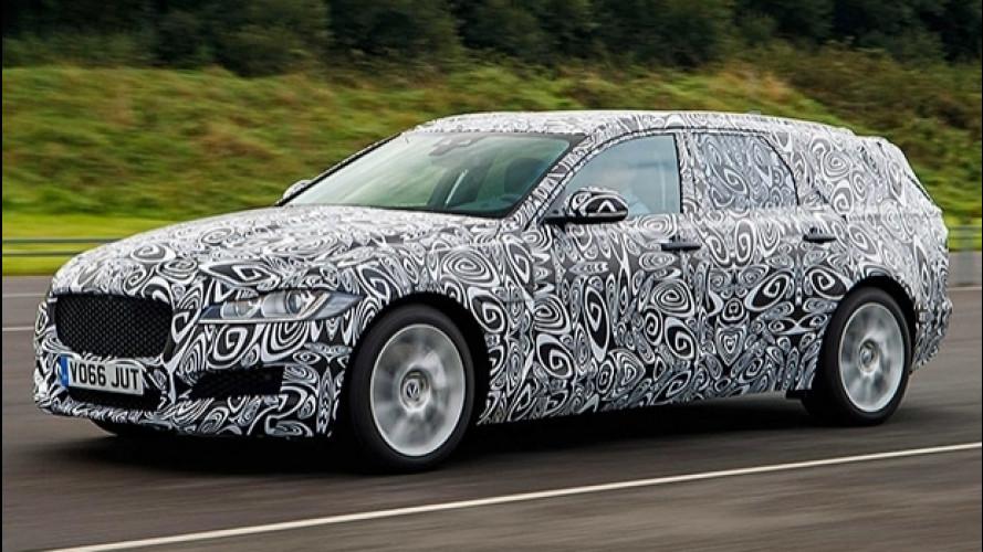 Nuova Jaguar XF Sportbrake, confermata per il 2017