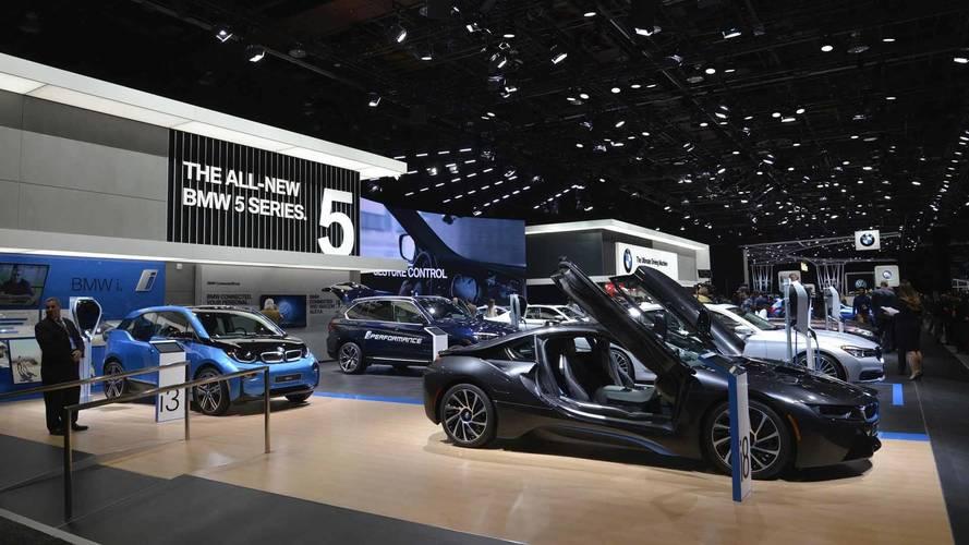 BMW, 2019 Detroit Otomobil Fuarı'na katılmayacağını açıkladı