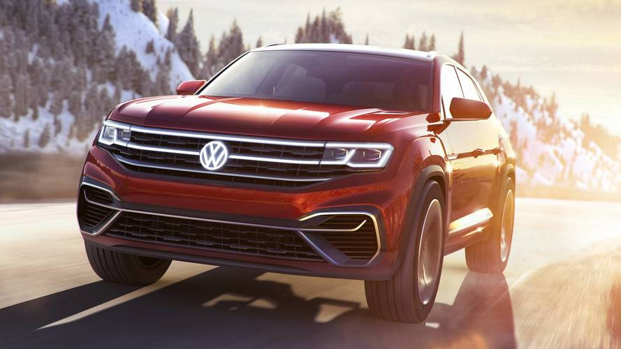 Концепт Volkswagen Atlas Cross Sport