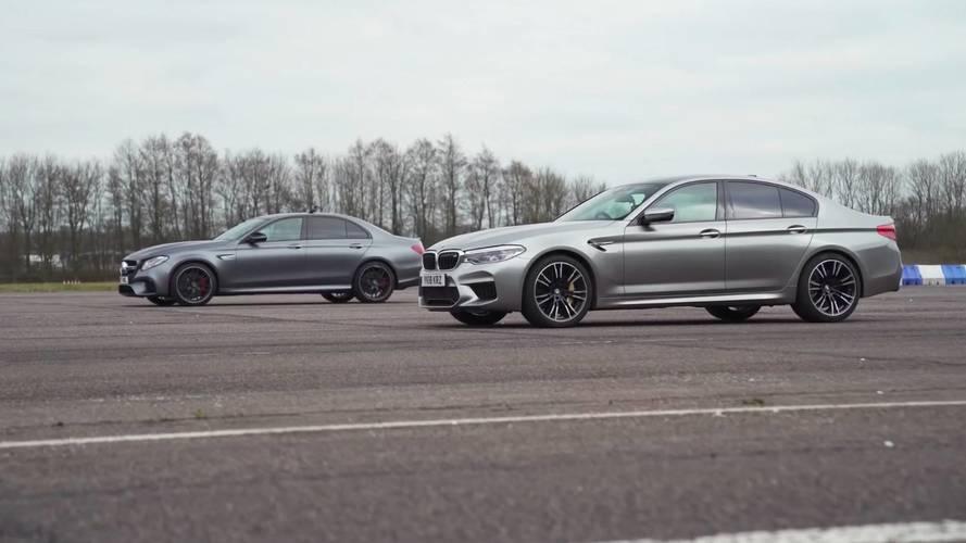 VIDÉO - La Mercedes-AMG E 63 S face à la nouvelle BMW M5