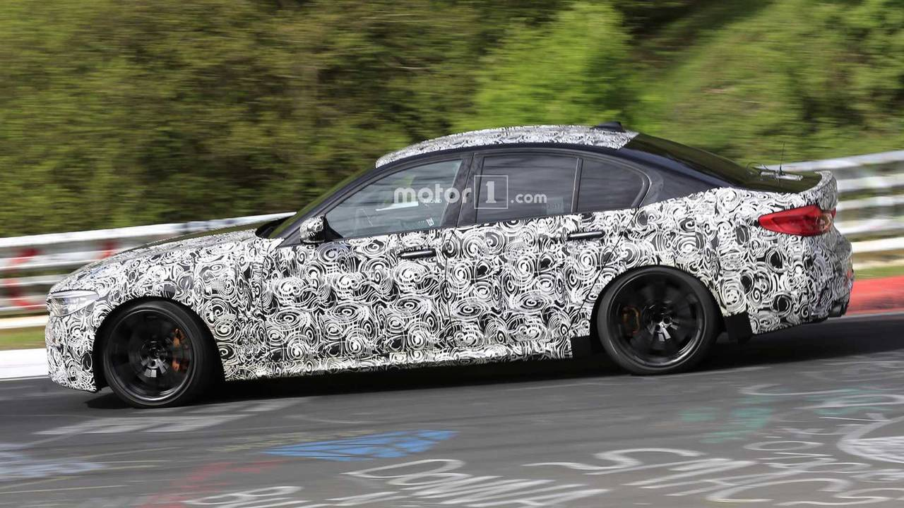 BMW M5 Competition Package 2018