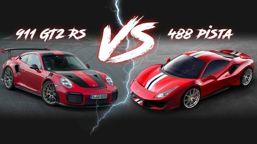 Ferrari 488 Pista vs Porsche 911 RS: Performans Rakamları