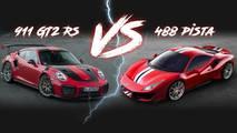 Ferrari 488 Pista vs. Porsche 911 GT2 RS