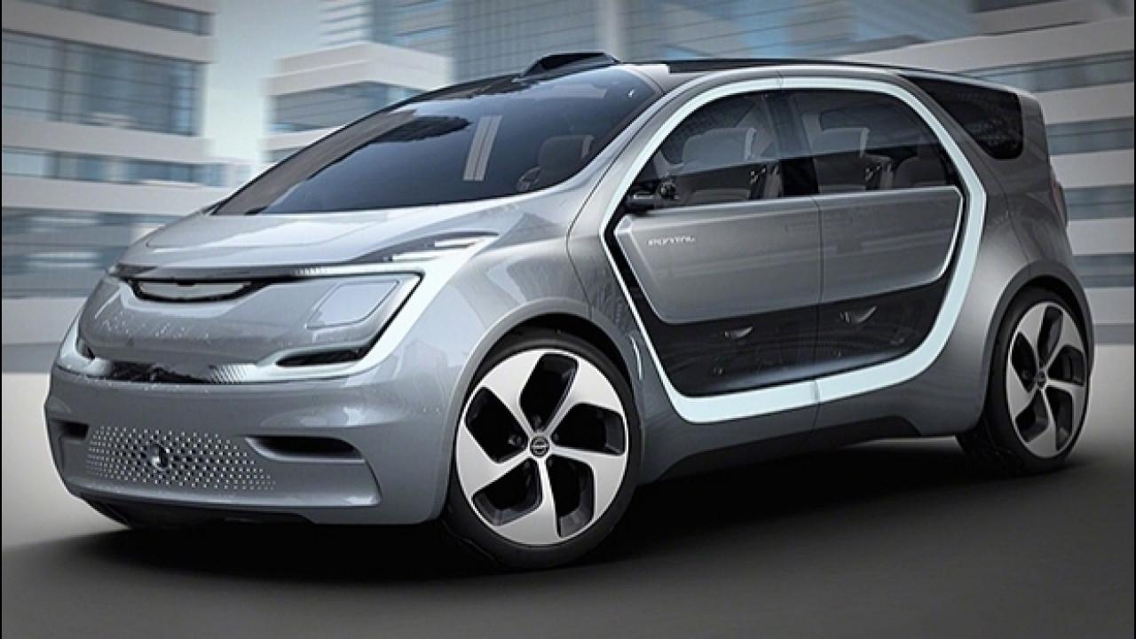[Copertina] - Chrysler Portal Concept, l'elettrica a guida autonoma diventa social