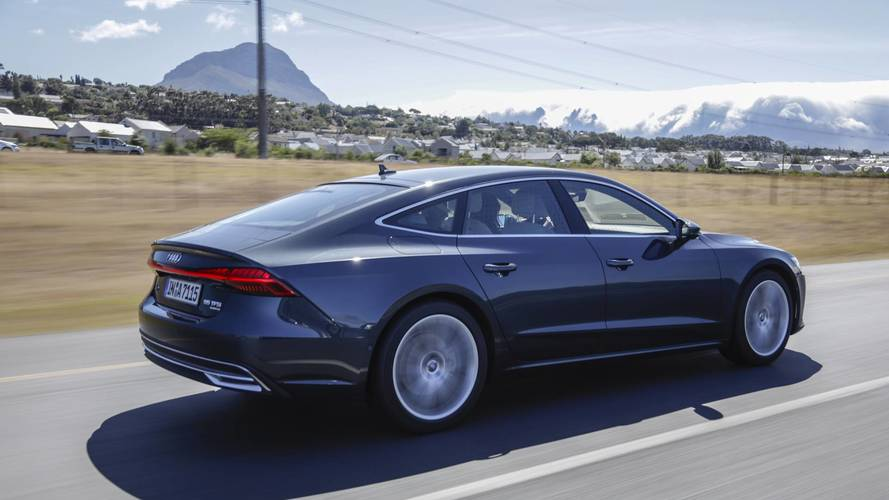 Audi A First Drive Pretty Functional Pretty Functional - Audi a7 2018