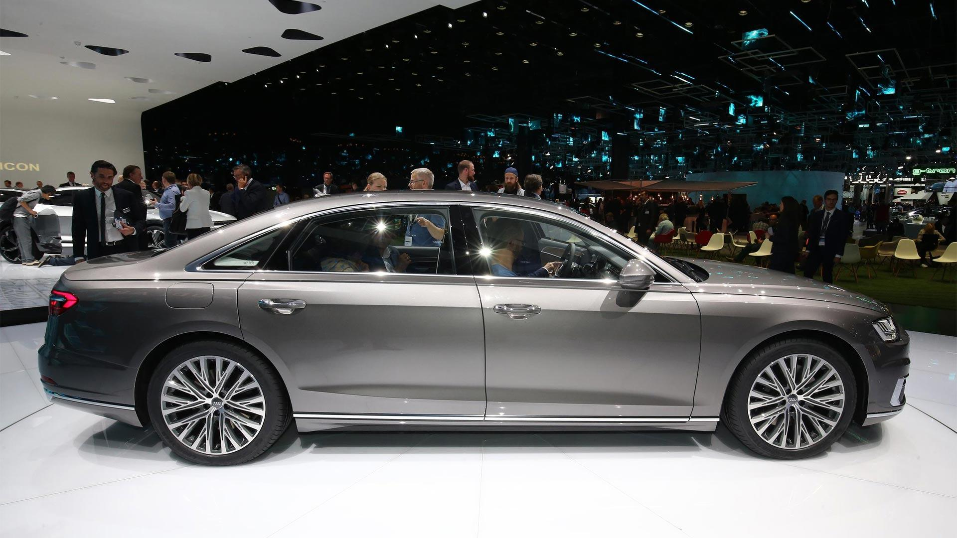 2018 Audi A8 Has Lasers, Foot Massagers, And A Big Price Tag