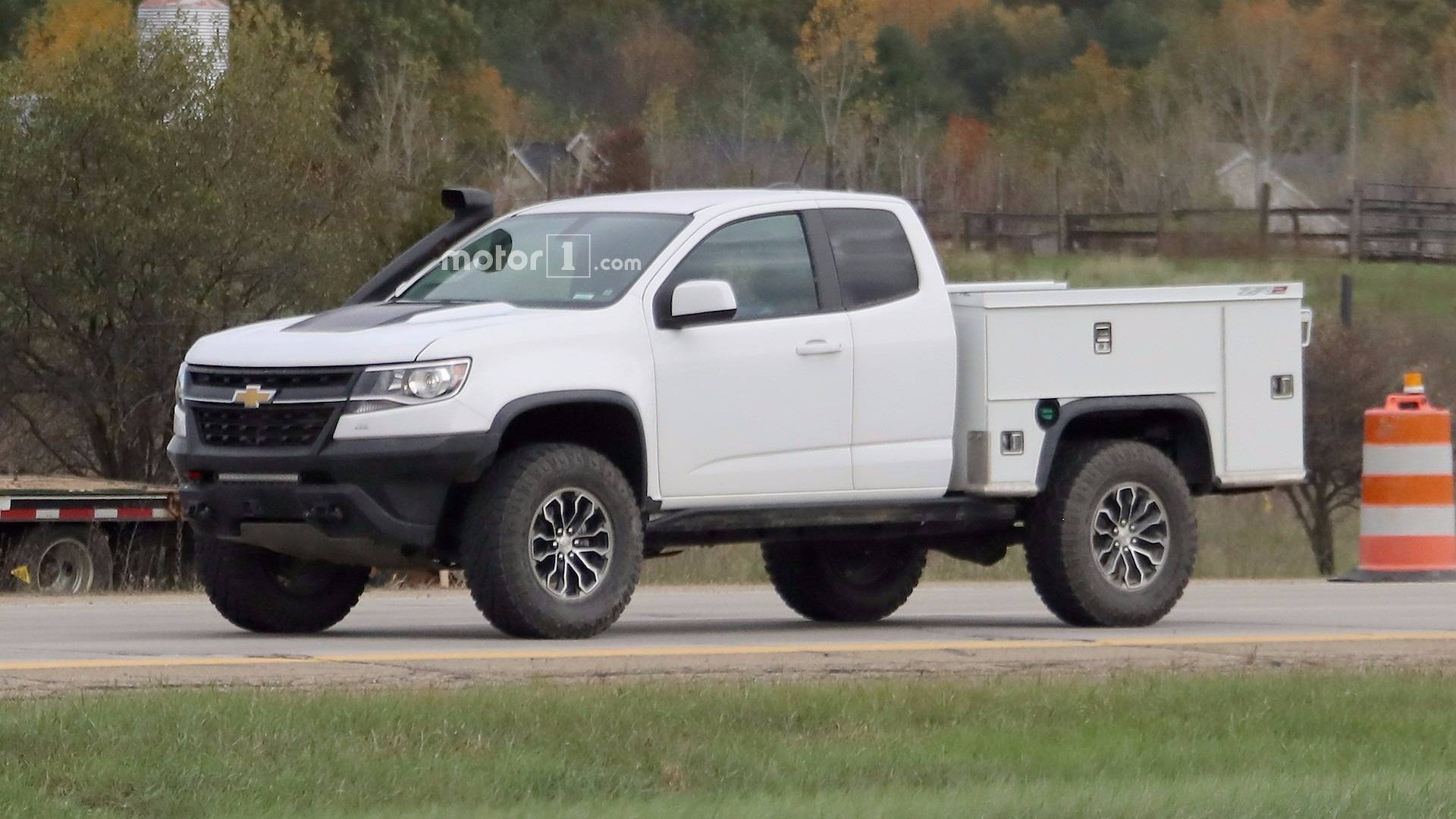 Chevy Work Truck >> Ultimate Work Truck Chevy Testing Zr2 Based Utility Vehicle