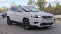 2018 Jeep Cherokee Headlights Spy Shots