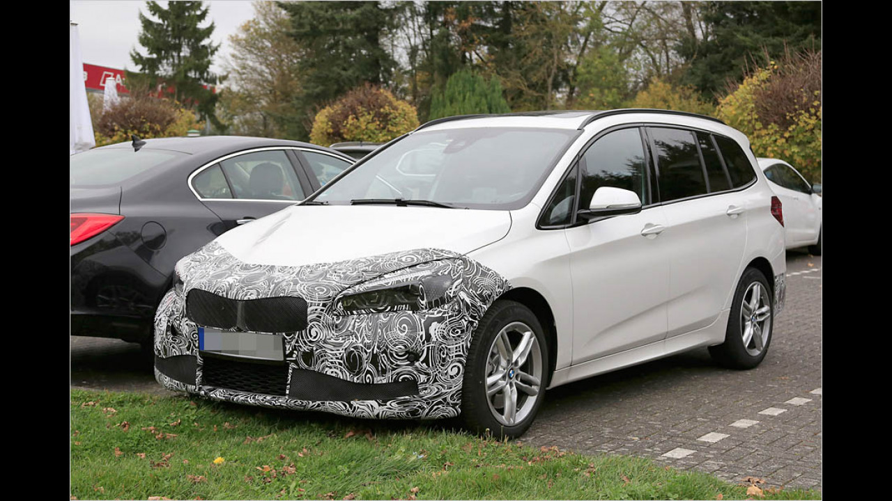 BMW 2er Gran Tourer Facelift