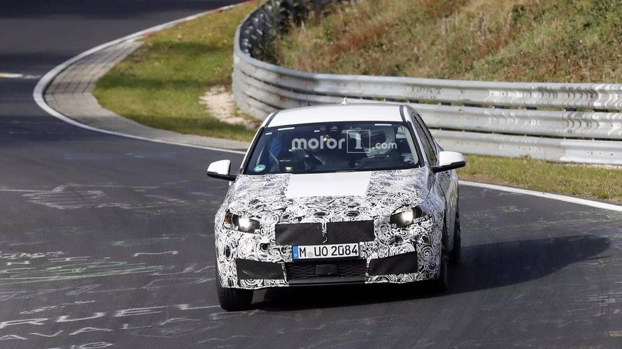 2019 BMW 1 Series interior spy photos