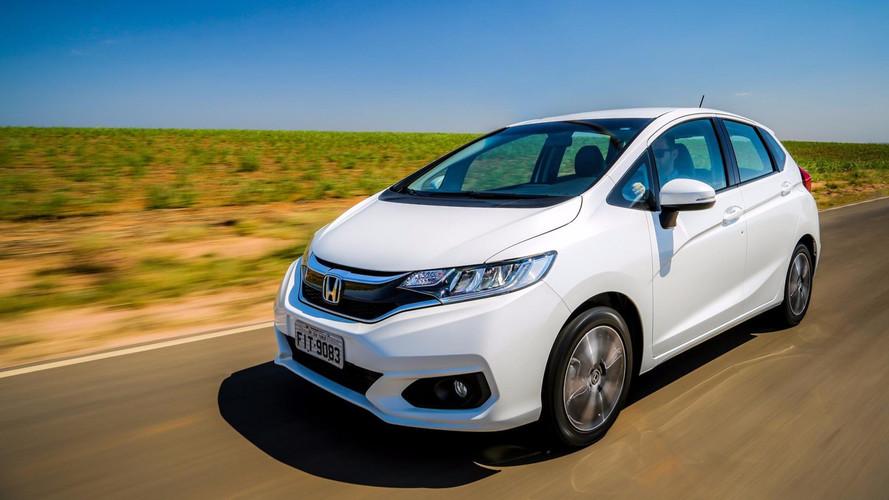 Honda Fit terá nova versão híbrida em 2020