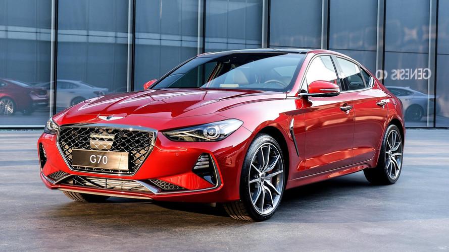Kore'nin BMW 3 Serisi'ne cevabı: Genesis G70