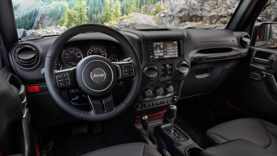 Wrangler Jeep Inside >> 2018 Jeep Wrangler Shows Off Interior In Official Images