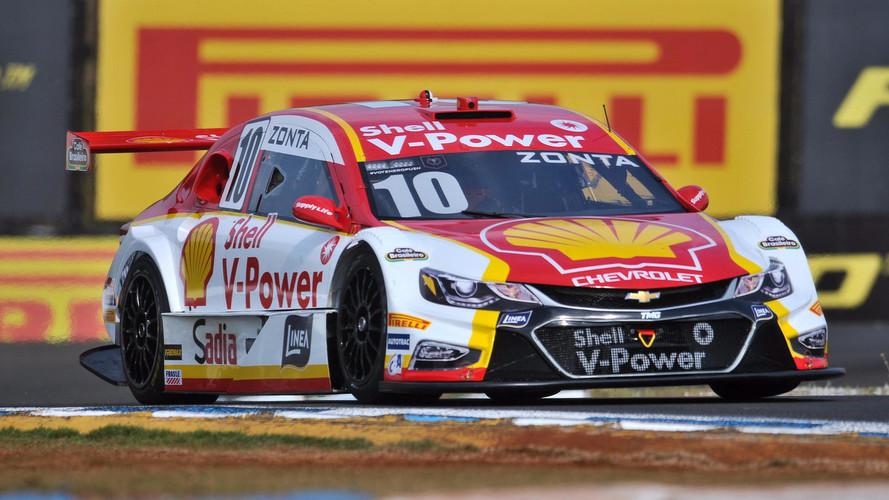 Zonta larga em 16º e vence corrida 2 de Londrina