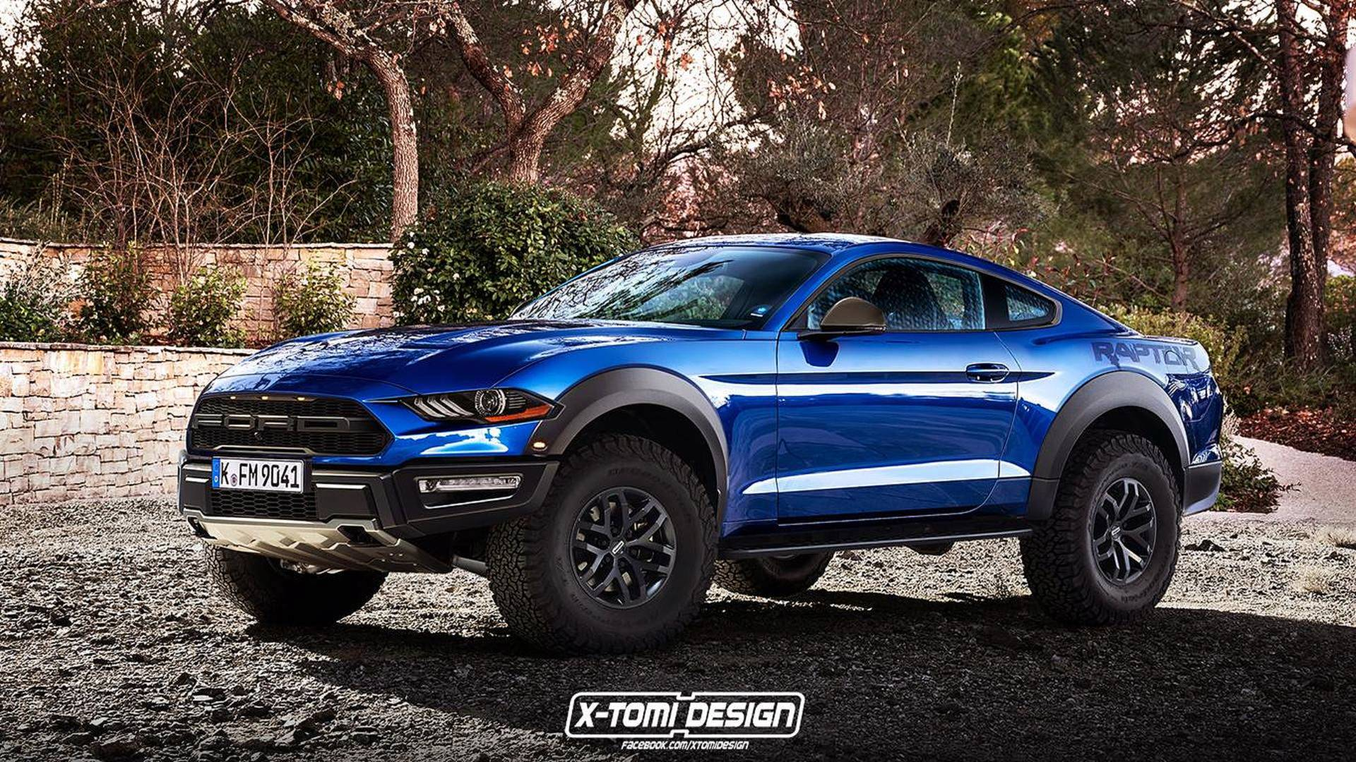 This epic ford mustang raptor render is so bad its good