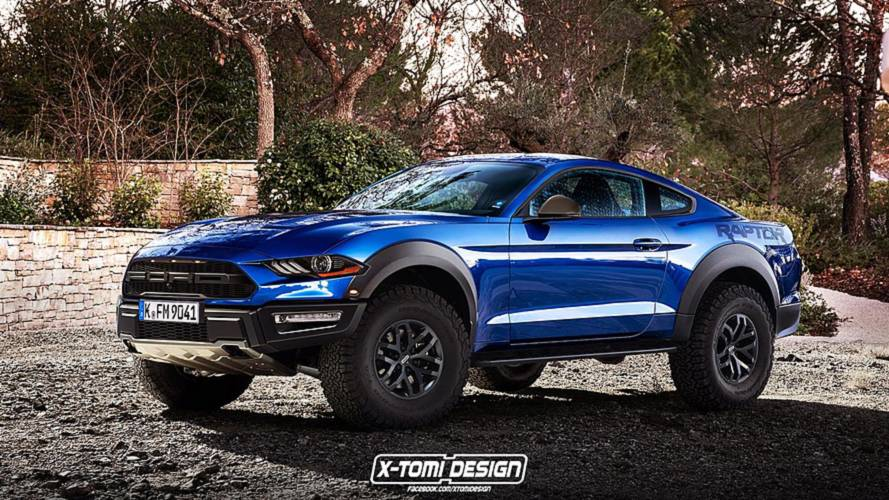 This Epic Ford Mustang Raptor Render Is So Bad It's Good
