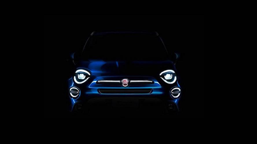 Hafif makyajlı Fiat 500X'in teaser'ı yayınlandı