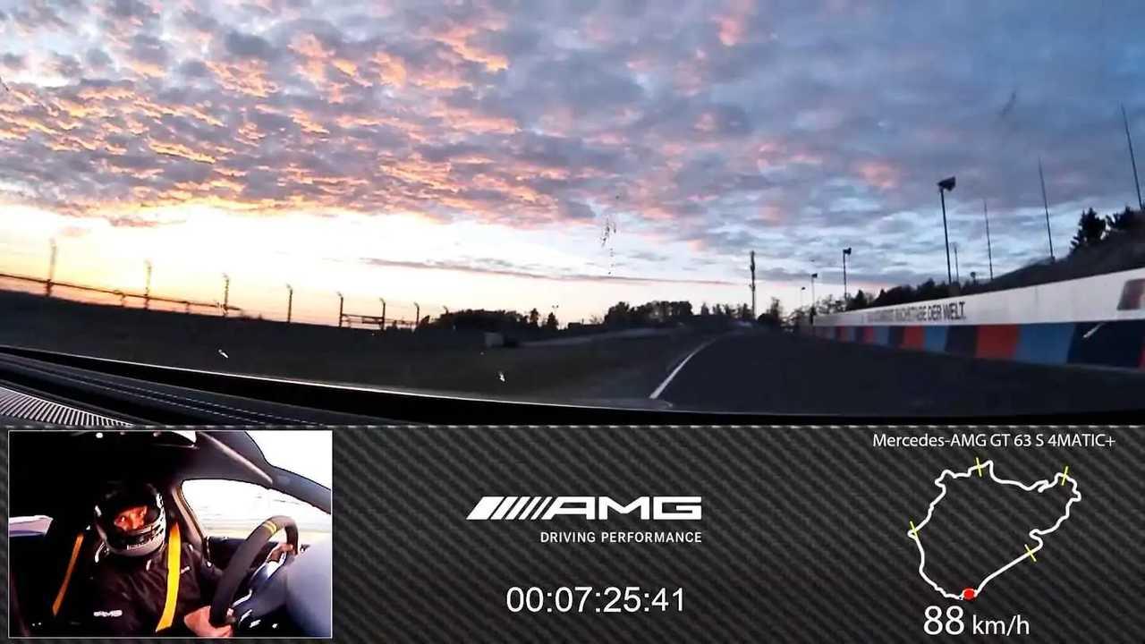 Mercedes-AMG GT 63 S Nurburgring Run