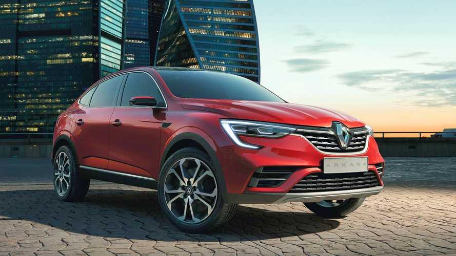Renault présente l'Arkana, son premier SUV coupé