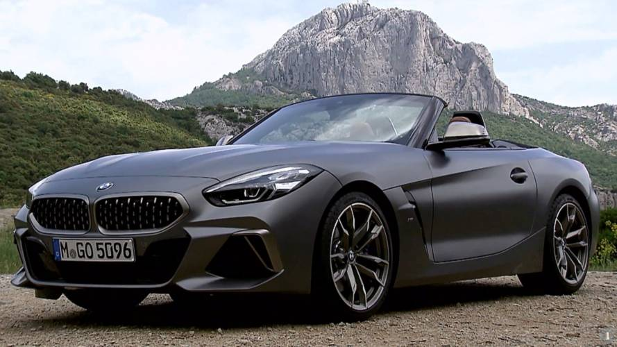 BMW Finally Drops Promo Videos For All-New Z4 Roadster