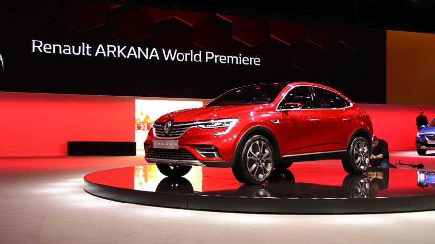 В Москве показали новый купе-кроссовер Renault Arkana