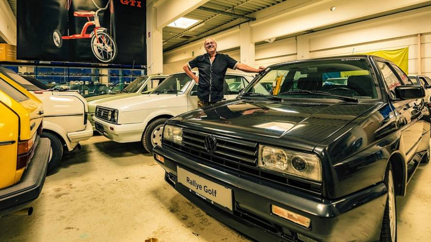 Meet The Man Who Owns 114 VW Golfs