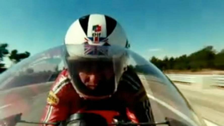 Phil Read rides the MV Agusta 500 in le Cheval de Fer