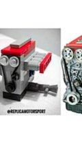 Lego Engine Replica