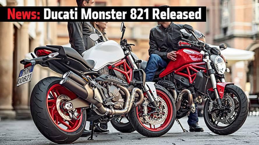 News: Ducati Monster 821 Released