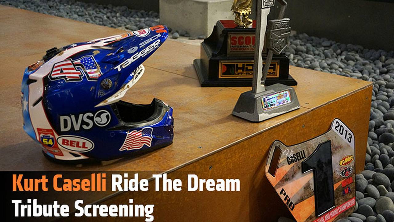 Kurt Caselli Ride The Dream Tribute Screening