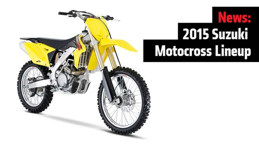 News: 2015 Suzuki Motocross Lineup