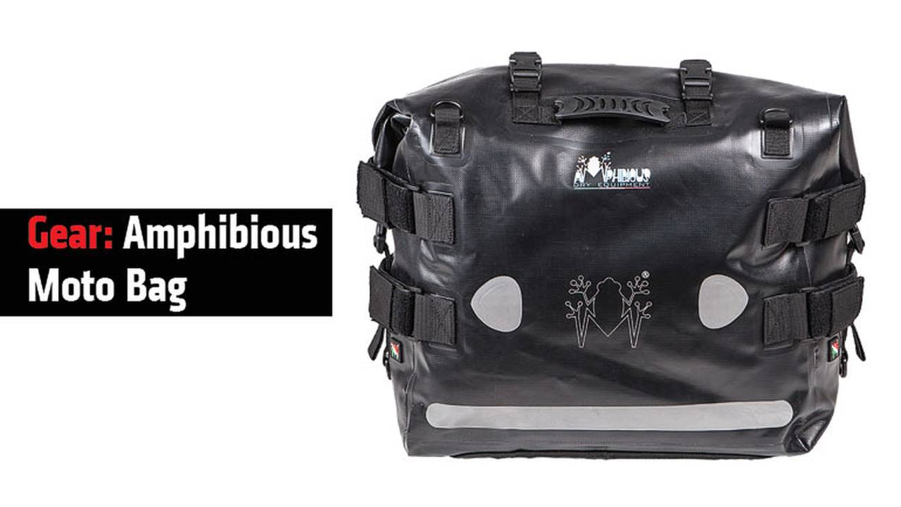 Gear: Amphibious Moto Bag