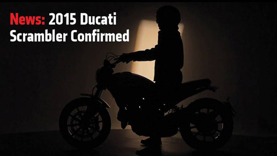 News: 2015 Ducati Scrambler Confirmed