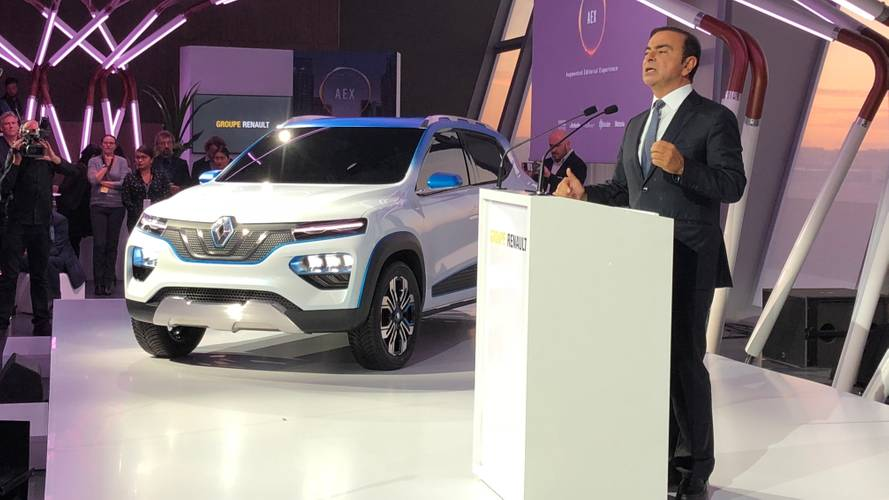 K-ZE – An affordable small electric Renault arrives!