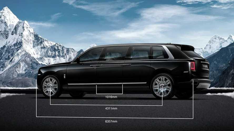 2 millió dollár a nyújtott tengelytávú Rolls-Royce Cullinan ára