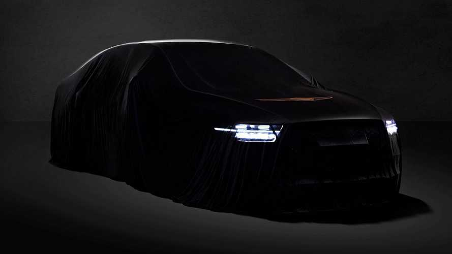 2020 Genesis G90 Facelift Teased With Completely New Headlights